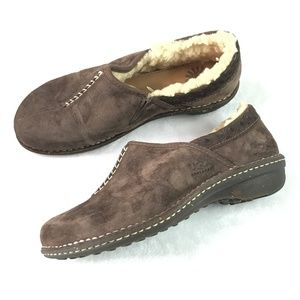 UGG Bettey Clog Shoes Size US 9 Brown Leather